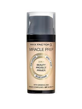Max Factor Max Factor Max Factor Miracle Beauty Prep Primer 3 In 1 Picture