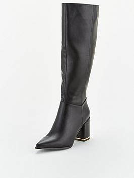 Office Office Klever Knee High Boot - Black Picture