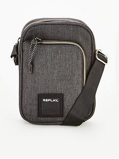 replay-cross-body-bag-grey