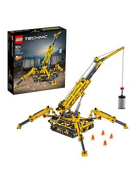 lego technic Lego Technic 42097 Compact Crawler Crane 2 In 1 Tower Crane  ... Picture