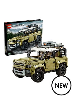 lego-technic-42110-land-rover-defender-4x4-car-model