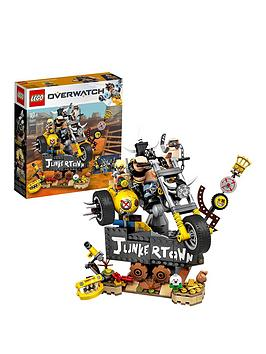 lego-overwatch-75977-junkratnbspamp-roadhog-from-junkertown