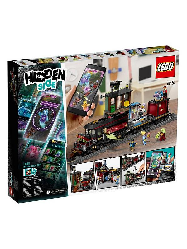 Lego Hidden Side 70424 Ghost Train Express Augmented Reality Games App Littlewoods Com