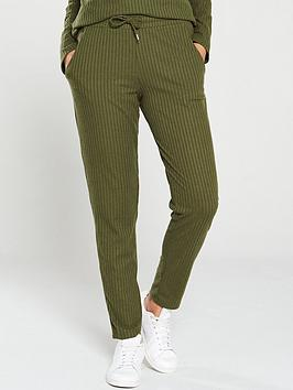 v-by-very-ribbed-snit-slim-co-ord-joggers-khaki