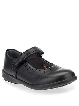 Start-Rite Start-Rite Mary Jane School Shoes - Black Leather Picture