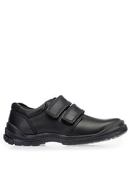 Start-Rite Start-Rite Boys Engineer School Shoes - Black Leather Picture