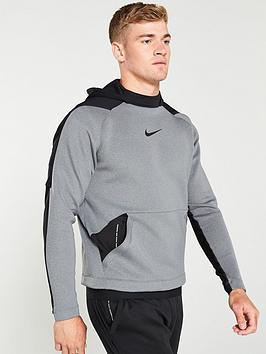 nike-pro-pullover-hoodie-grey