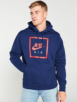 Nike Nike Sportswear Air Overhead Hoodie - Blue Picture