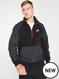 nike-sportswear-polar-fleece-half-zip-sweat-blackgrey
