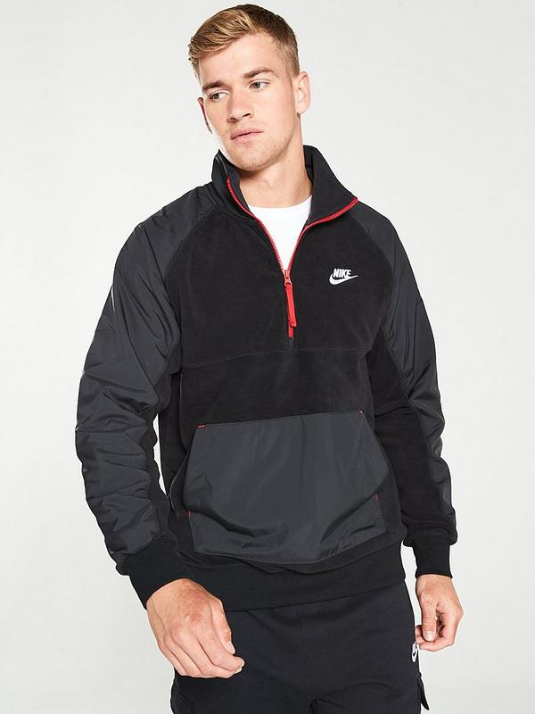Unidad Autenticación Velo  half zip fleece nike factory outlet 81b3f 99265