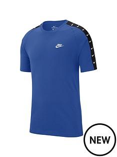 nike-sportswear-swoosh-2-tape-t-shirt-blue
