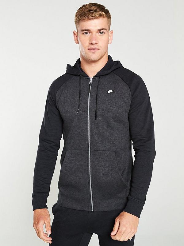 Nike Sportswear Optic Hoodie, Dark Grey