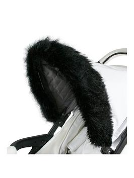 My Babiie My Babiie My Babiie Luxurious Faux Fur Pram Hood Trim Picture