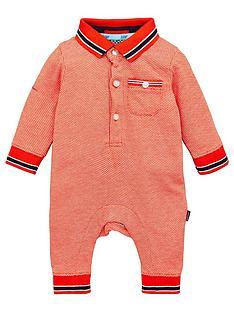 baker-by-ted-baker-baby-boys-jacquard-romper-suit-orange