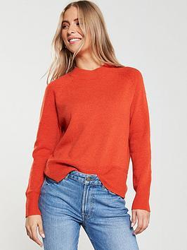 oasis-rebecca-raglan-sleeve-jumper-orange