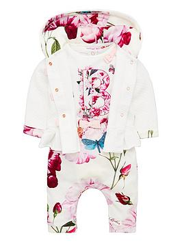 baker-by-ted-baker-baby-girls-3-piece-floral-set-lilac