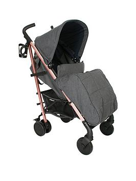 My Babiie My Babiie Katie Piper Mb51 Rose Gold,Grey &Amp; Navy Stroller Picture