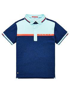 baker-by-ted-baker-boys-colour-block-short-sleeve-polo-shirt-blue