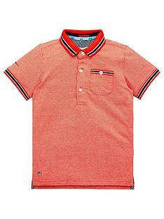 baker-by-ted-baker-boys-jacquard-short-sleeve-polo-shirt-orange