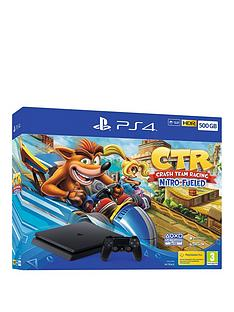 playstation-crash-team-racing-nitro-fueled-500gb-ps4nbspconsole-bundle-withnbspoptional-extras