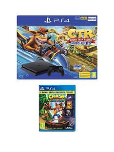 playstation-crash-team-racing-nitro-fueled-500gb-ps4-bundle-with-crash-bandicoot-nsane-trilogy-andnbspoptional-extras