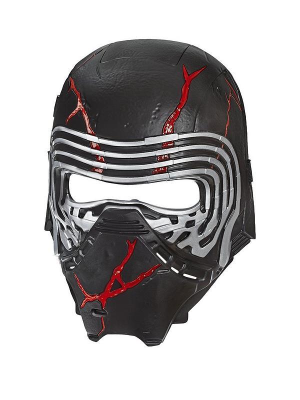 Star Wars Star Wars The Rise Of Skywalker Supreme Leader Kylo Ren Force Rage Mask Littlewoods Com
