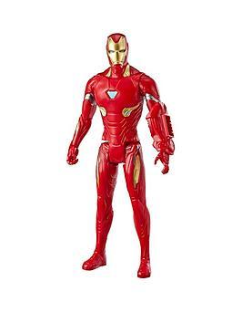 marvel avengers Marvel Avengers Titan Hero 12 Inch Figure Iron Man Picture
