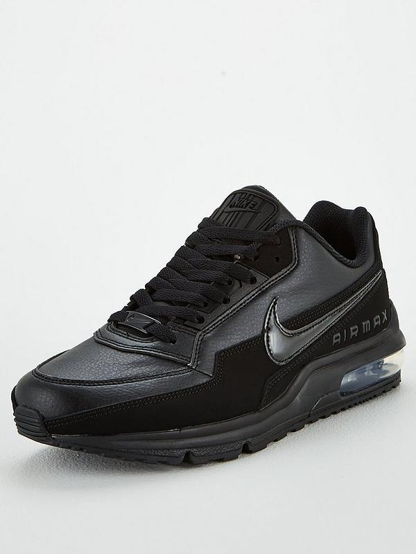 Mens Nike Air Max More Trainers Black
