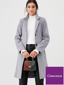 warehouse-clean-longline-belted-coat-grey