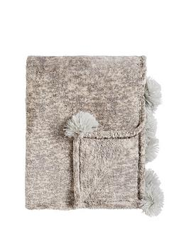 Cascade Home Cascade Home Marble Pom Pom Throw Picture