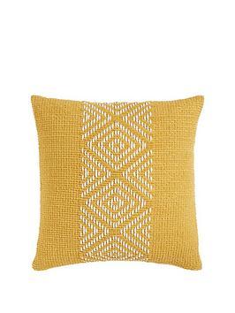 cascade-home-diamond-chenille-cushion