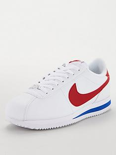 nike-cortez-basic-leather-whiteredblue