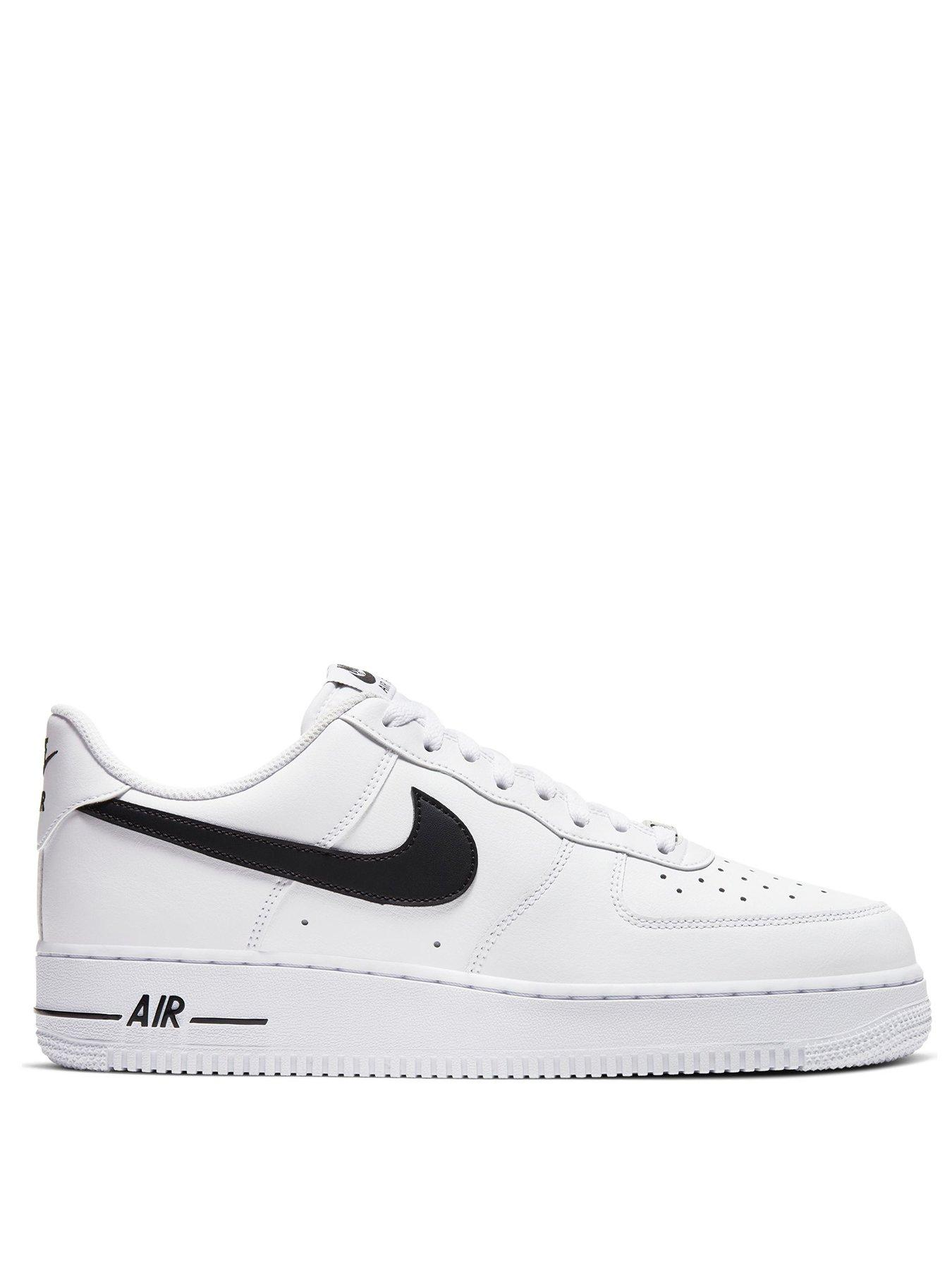 """Nike Air Force 1 Low """"Swoosh Pack"""" White Shoes Rep"""