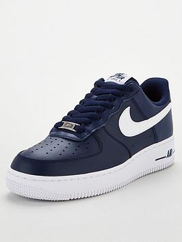 Nike Nike Air Force 1 '07 An20 - Navy/White Picture