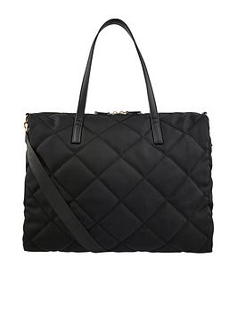 Accessorize Accessorize Harri Quilted Weekender Bag - Black Picture