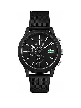 Lacoste Lacoste Lacoste 12.12 Black And White Detail Multi Dial Black  ... Picture