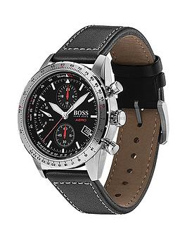 boss-boss-black-and-red-detail-chronograph-dial-black-leather-strap-mens-watch