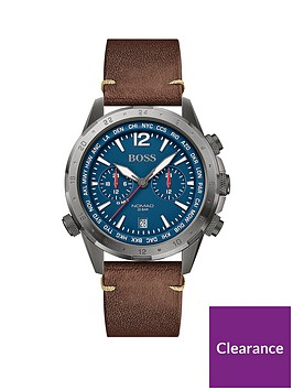 boss-boss-blue-and-red-detail-chronogragh-dial-brown-lwather-strap-mens-watch
