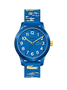 lacoste-lacoste-blue-dial-blue-and-yellow-croc-print-silicone-strap-kids-watch