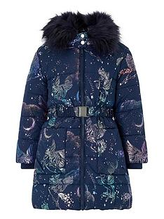 monsoon-girls-luna-unicorn-padded-hooded-coat-navy