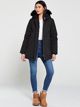 Ugg Ugg Bernice Parka Coat - Black Picture
