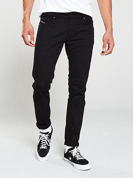 Diesel Diesel Sleenker Skinny Jeans - Black Picture