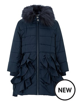 monsoon-girls-ella-padded-hooded-coat-with-detachable-collarnbsp--navy