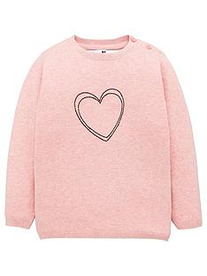v-by-very-girls-heart-jumper-pink