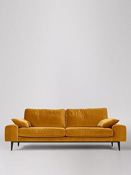 Swoon Swoon Tulum Fabric 3 Seater Sofa Picture