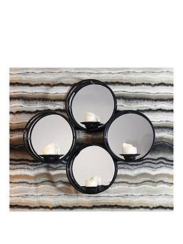ARTHOUSE Arthouse Mirrored Candle Holder Shelf Picture