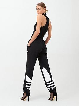 adidas Originals Adidas Originals Large Logo Sweat Pant - Black Picture