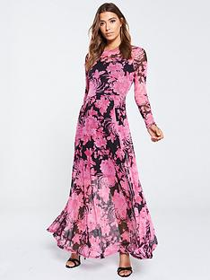 v-by-very-printed-mesh-maxi-dress-floral