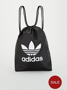 adidas-originals-trefoil-gym-sack-black