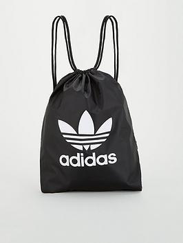 adidas Originals Adidas Originals Trefoil Gym Sack - Black Picture